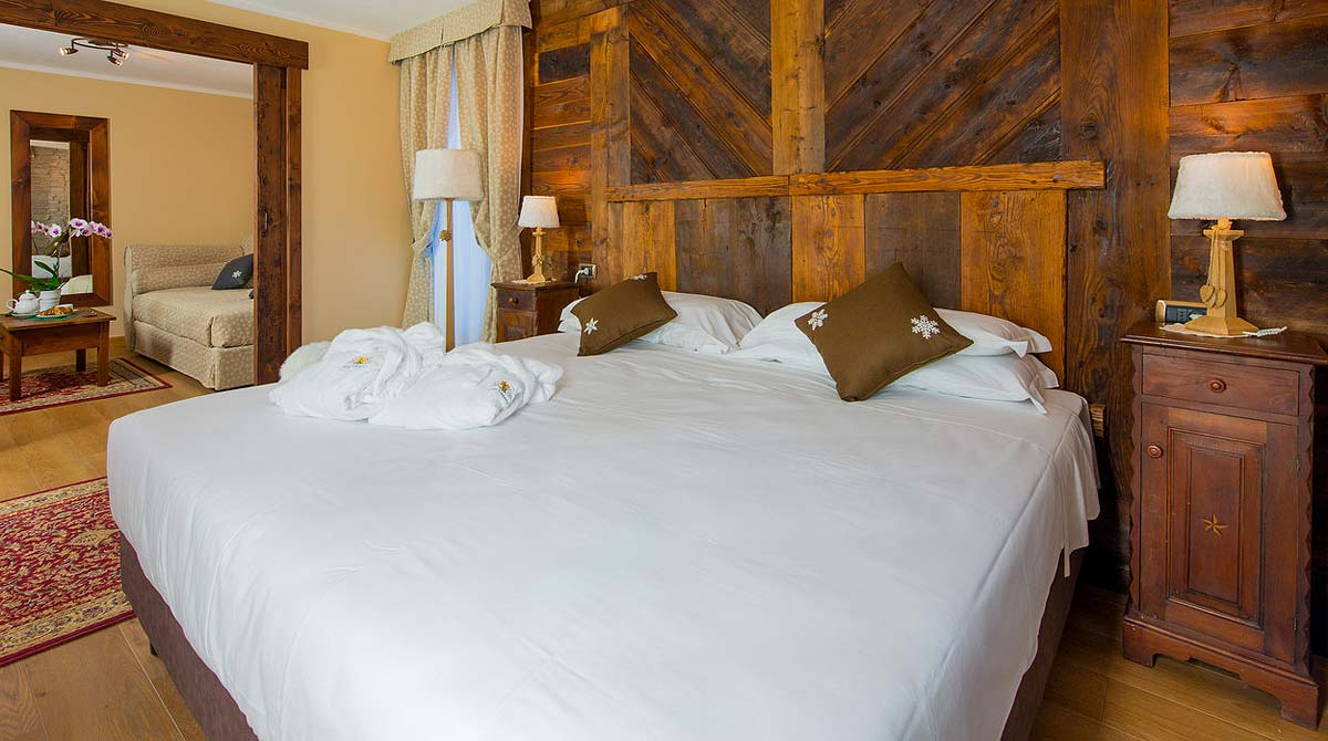 hotel Edelweiss Breuil Cervinia le camere