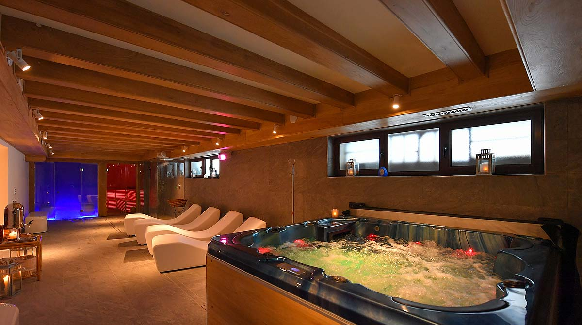 hotel Edelweiss Breuil Cervinia il centro wellness